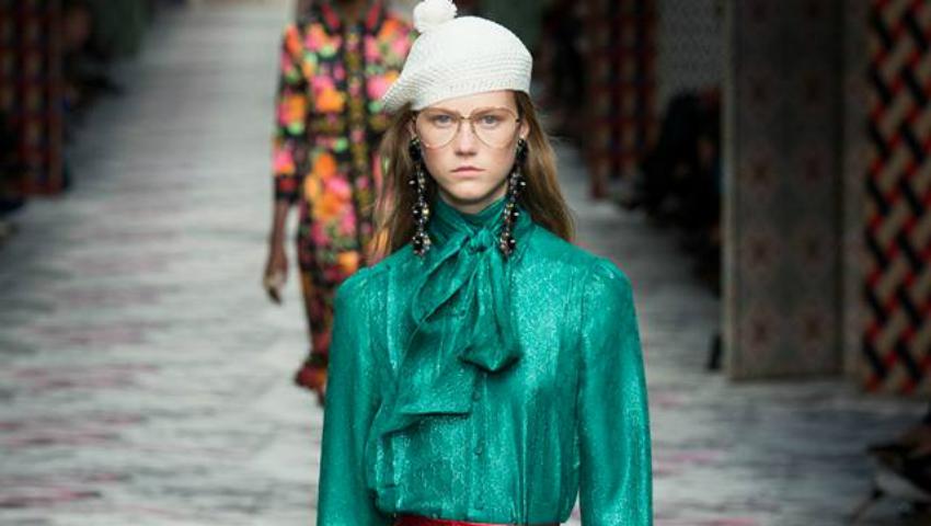 Foto: Gucci s-a inspirat de la un designer din Moldova? Uite ce ținută a prezentat!