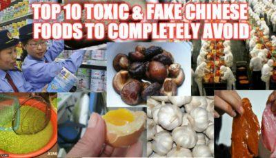 Alimentele din CHINA sunt pline de material plastic și substanțe chimice ce cauzează cancer