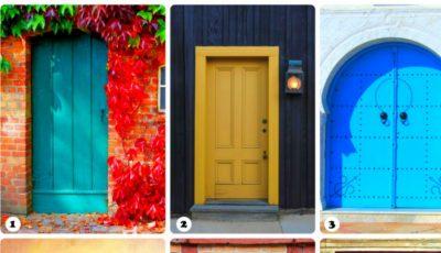 Alege o ușă şi află ce spune ea despre tine!