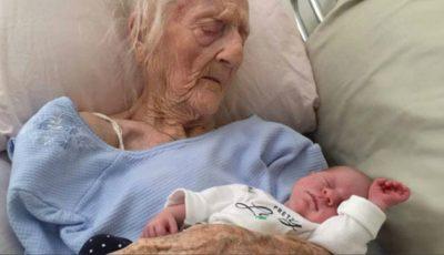 O femeie de 101 ani a uimit lumea medicală. A născut un băiețel. Cum a fost posibil