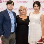 Foto: Cu drag de mama: Lilia Ioviță, fondatoarea Women's Summit Moldova