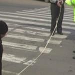 Foto: O minoră a fost strivită pe trecerea de pietoni în această dimineaţă
