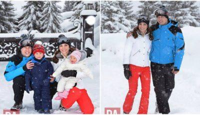 Familia Regală, prima vacanţă la munte împreună cu copiii! Poze