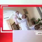 Foto: Daria o fugăreşte pe Karizma! Cât a slăbit mami?