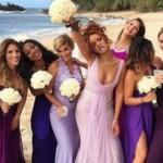 Foto: Celebrități în rol de domnișoare de onoare! Pentru ce ținute au optat