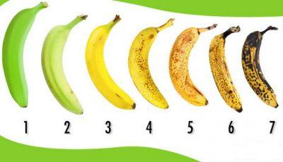 Când este momentul potrivit pentru a consuma o banană?