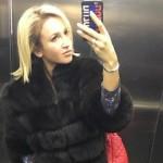 Foto: Olga Buzova a ajuns să facă poze lângă closet!