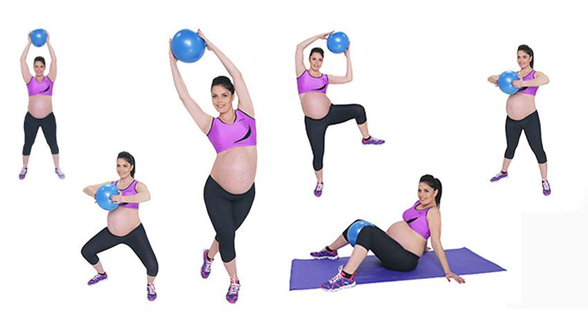 Foto: Menține-ți formele în timpul sarcinii cu 5 exerciții eficiente!