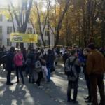 Foto: Alertă cu bombă la un liceu din Chișinău