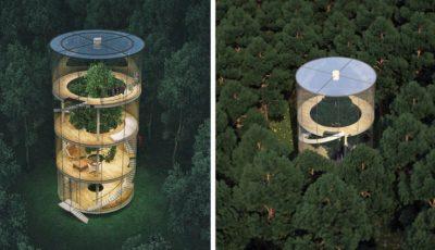 Această casă din sticlă a devenit virală pe internet!