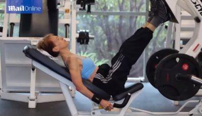 O bunicuță de 73 de ani e bodybuilder!