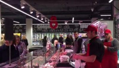 Brio Sonores lucrează într-un supermarket!