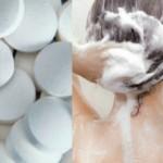 Foto: Pune două aspirine în şampon. Rezultatul e fenomenal!