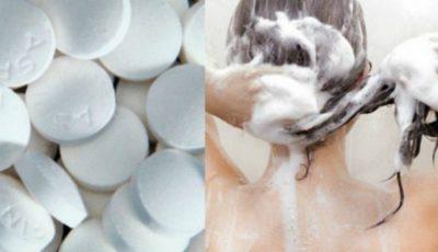 Pune două aspirine în şampon. Rezultatul e fenomenal!