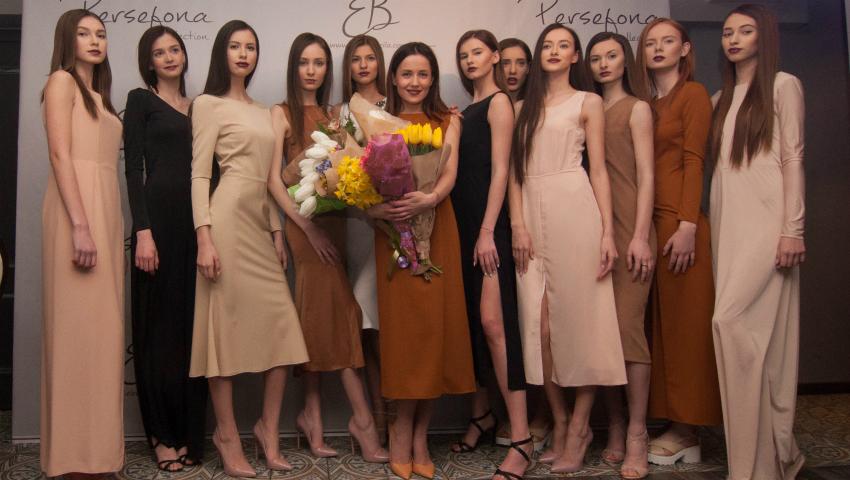 Foto: Elena Băncilă și-a prezentat prima colecție de rochii. Cum a fost la eveniment!