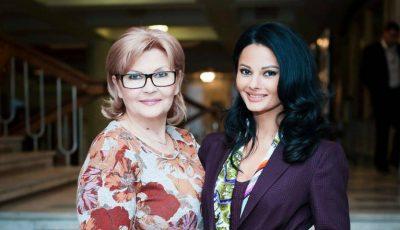 Cu drag de mama: Olga Fedosenko, prezentatoare TV