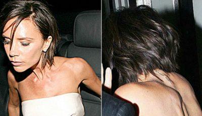 Victoria Beckham promovează anorexia?!