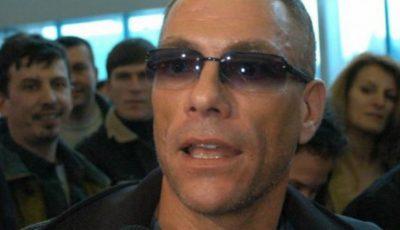 Jean-Claude Van Damme e în România. Vezi ce gafă de proporții a făcut!