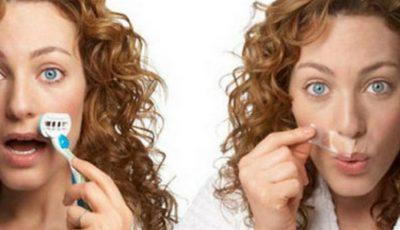 5 metode care te scapă de părul facial!
