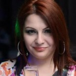 Foto: Geta Burlacu și-a făcut șuvițe violete!