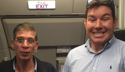 """Un ostatic din avionul egiptean și-a făcut selfie cu """"atacatorul"""""""