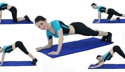 7 exerciții pentru un spate sănătos!