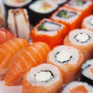 viermi din sushi decât pentru a trata