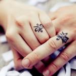 Foto: 15 tatuaje care înlocuiesc verighetele