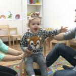 Foto: Fiica Corneliei şi a lui Marcel Ştefăneţ preferă muzica populară, în loc de desene animate