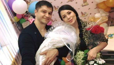 Primele poze cu fiul Irinei Tarasiuc