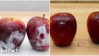 Atenţie! Fructele din comerţ sunt pulverizate cu ceară chimică. Află o metoda eficientă de curăţare