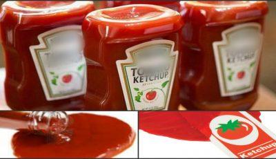 Analizele au arătat! Ketchup-ul din magazine este o apă de coloranţi chimici, lipsit în totalitate de suc de roşii!