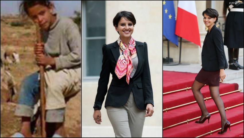 Foto: De la fetiţa păstor din Maroc, la Ministrul Educaţiei din Franţa!