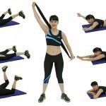 Foto: 5 exerciții pentru un spate tonifiat și sănătos!