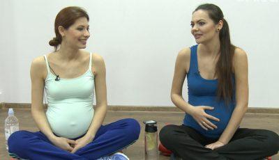 Ce nume au ales Veronica şi Daniela Ghimp pentru bebeluşii lor!