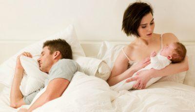 De ce te enervează soţul după ce naşti
