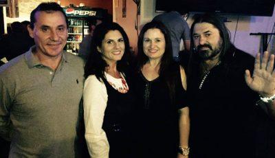 Lenuța Burghilă și-a lansat albumul în Las Vegas