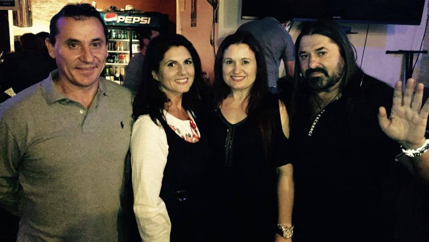 Foto: Lenuța Burghilă și-a lansat albumul în Las Vegas