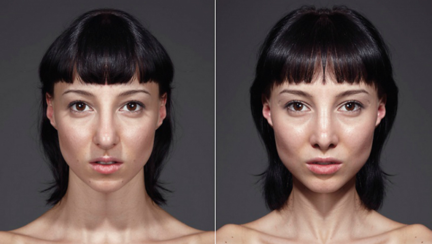 Foto: Cum ar arăta oamenii dacă trăsăturile feței ar fi absolut simetrice!