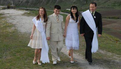 Corina Țepeș și Costi Burlacu sărbătoresc 9 ani de căsnicie!