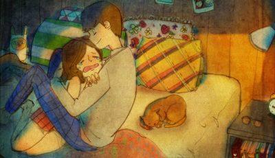 25 de ilustrații care demonstrează că dragostea e formată din lucruri mărunte!
