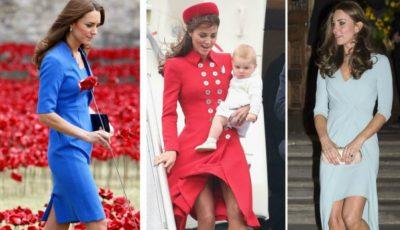 Garderoba lui Kate Middleton conține doar 7 piese vestimentare