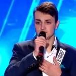 """Foto: Un tânăr din Ungheni i-a uimit pe jurații emisiunii """"Românii au Talent"""""""