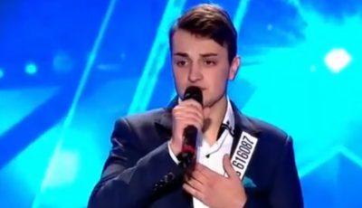 """Un tânăr din Ungheni i-a uimit pe jurații emisiunii """"Românii au Talent"""""""