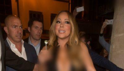 Mariah Carey, cu sfârcurile la vedere!