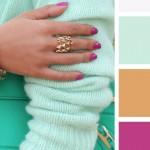 Foto: 15 idei de asortare a culorilor pentru primăvară!