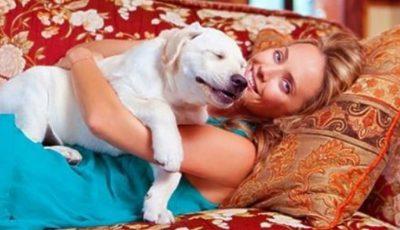 Câinele Jannei Friske se simte și mai rău după chimioterapii!
