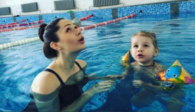 Irina Tarasiuc va naște peste 2 săptămâni, însă nu renunță la exercițiile cu greutăți!