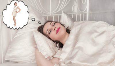 Slăbește în timp ce dormi. 4 metode eficiente!