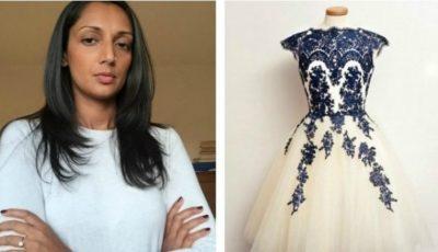 Și-a cumpărat rochia de mireasă online. A fost în stare de panică când a văzut-o!